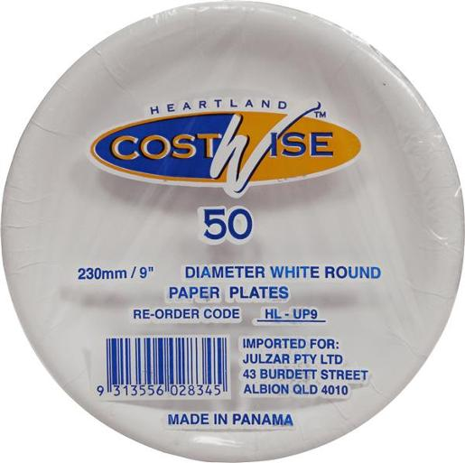 UNCOATED PAPER PLATES 230M 50S