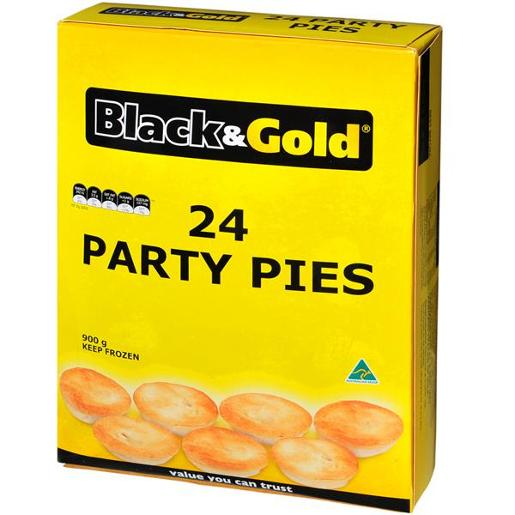 PARTY PIES 24 PACK 900GM