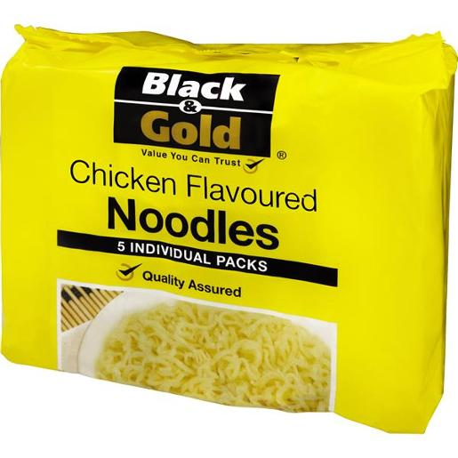 NOODLES CHICKEN FLAVOURED 5 PACK 85GM