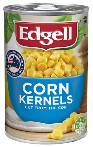 WHOLE CORN KERNELS 420GM