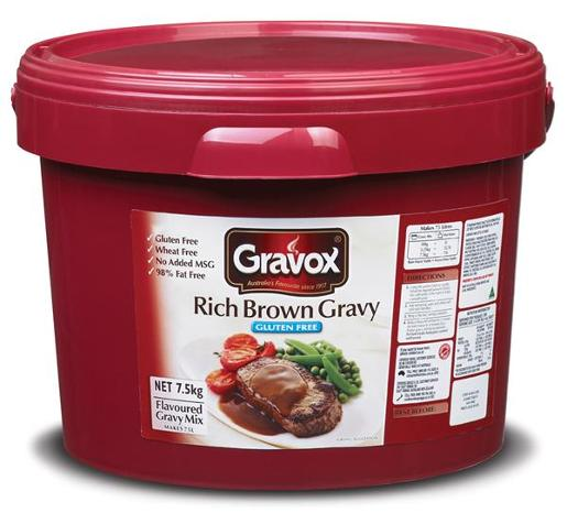 GRAVY RICH BROWN GLUTEN FREE 7.5KG