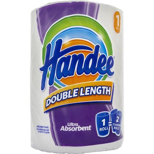 PAPER TOWEL DOUBLE ROLL 2PLY WHITE 1S