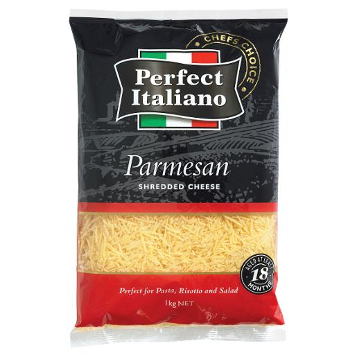 SHREDDED PARMESAN CHEESE 1KG