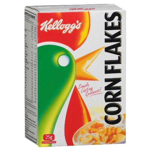 CORN FLAKES INDIVIDUAL PORTIONS 25GM