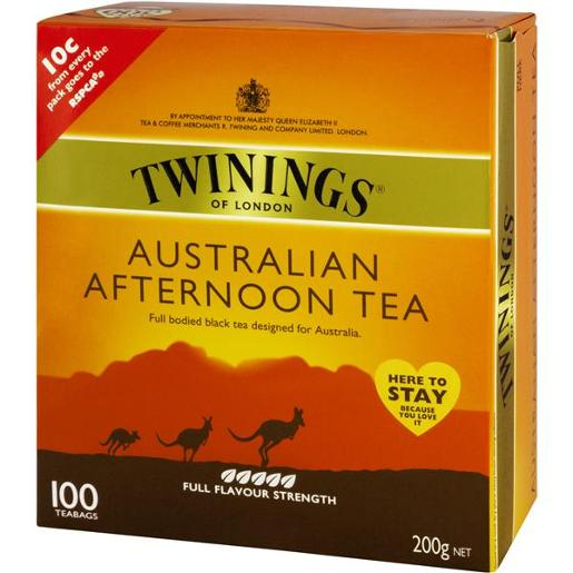 AUSTRALIAN FULL STRENGTH AFTERNOON TEA BAGS 100S