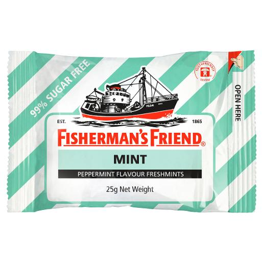 PEPPERMINT SUGAR FREE LOZENGES 25GM