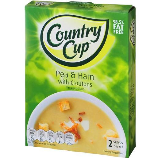 PEA & HAM SOUP WITH CROTONS 50G
