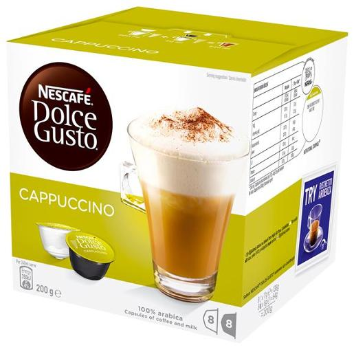 DOLCE GUSTO CAPPUCCINO COFFEE 16PK