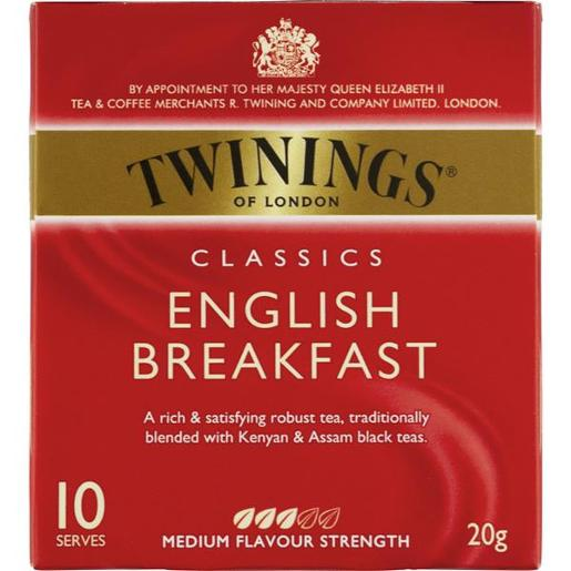 ENGLISH BREAKFAST CLASSICS TEABAGS 10S