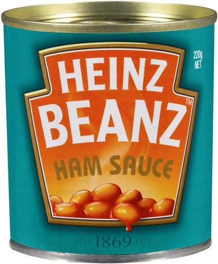 BAKED BEANS IN HAM SAUCE 220GM