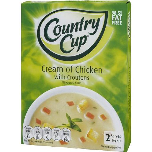 CROUTONS CULINARY CREAM OF CHICKEN 50G