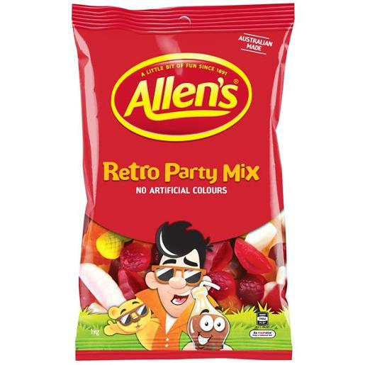 PARTY MIX RETRO 1KG