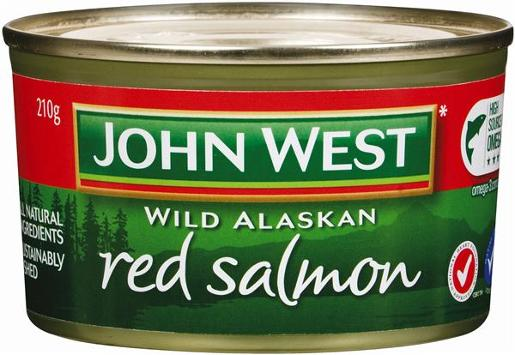 RED SALMON 210G