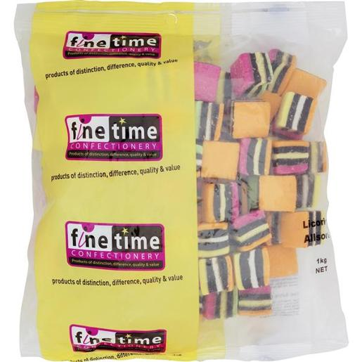 ALLSORTS LICORICE 1KG