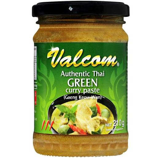GREEN CURRY PASTE 210GM