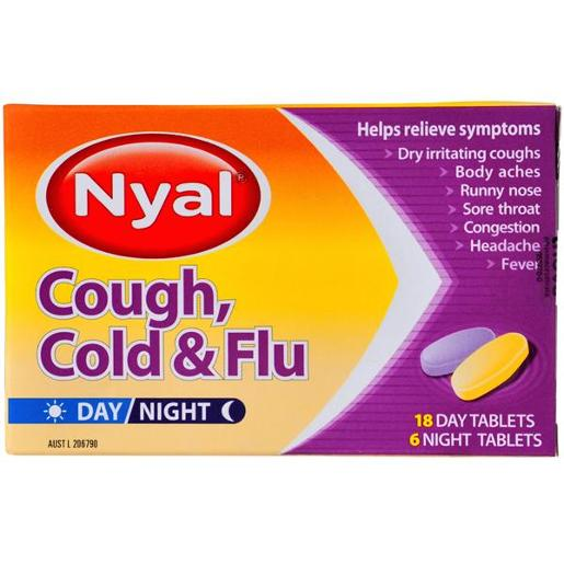 COLD & FLU COUGH TABLETS 24S
