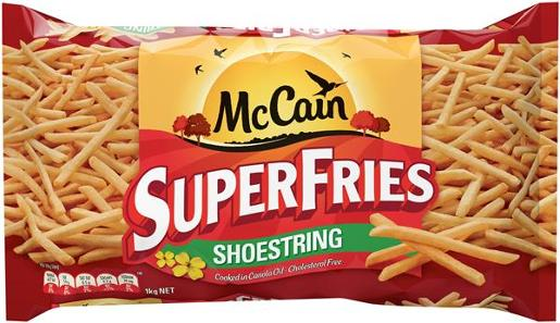 SUPERFRIES SHOWSTRING 1KG