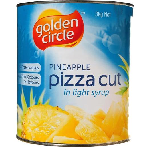 PINEAPPLE IN SYRUP PIECES 3KG