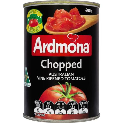 VINE RIPENED DICED TOMATOES 400G