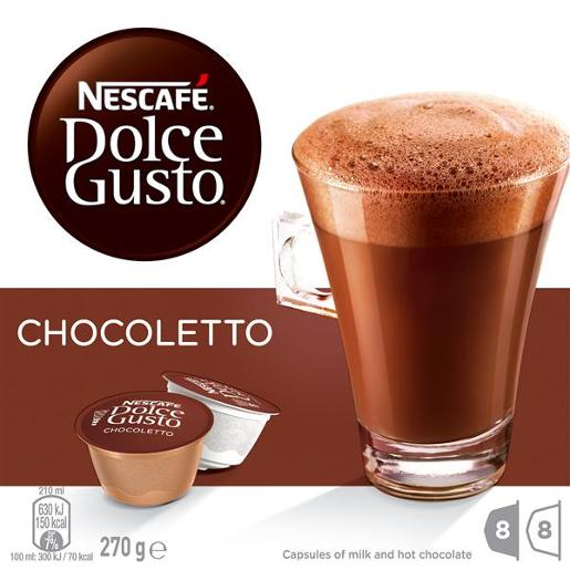DOLCE GUSTO HOT CHOCOLATE 16PK