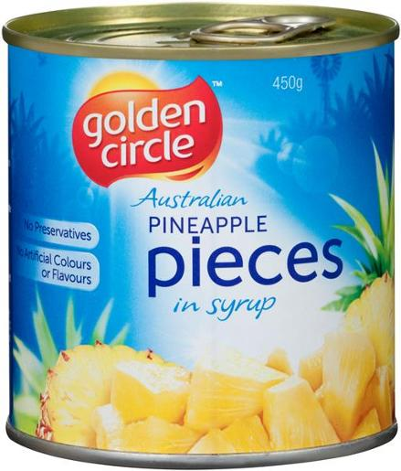 PINEAPPLE PIECES 450GM