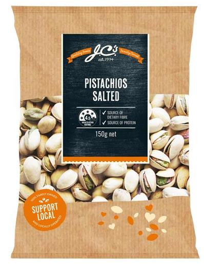 SALTED PISTACHIOS 150GM
