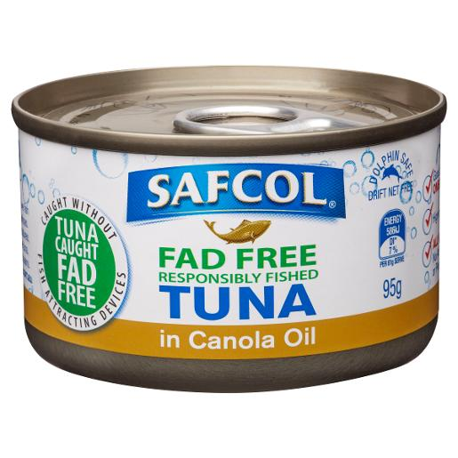 TUNA IN CANOLA OIL 95GM