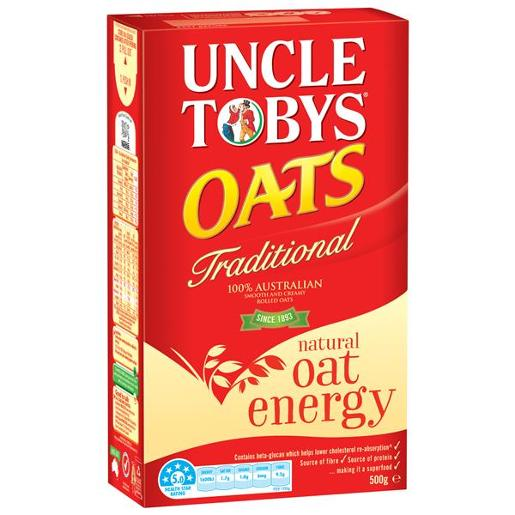 TRADITIONAL OATS BREAKFAST CEREAL 500GM