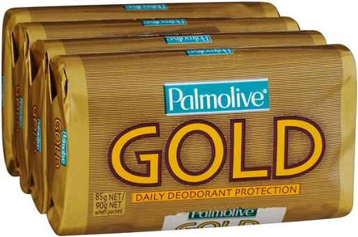 SOAP GOLD 4 PACK 90GM