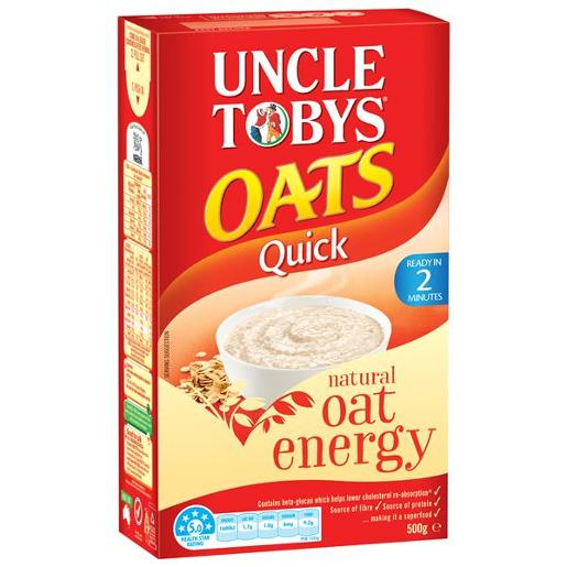 QUICK OATS BREAKFAST CEREAL 500GM