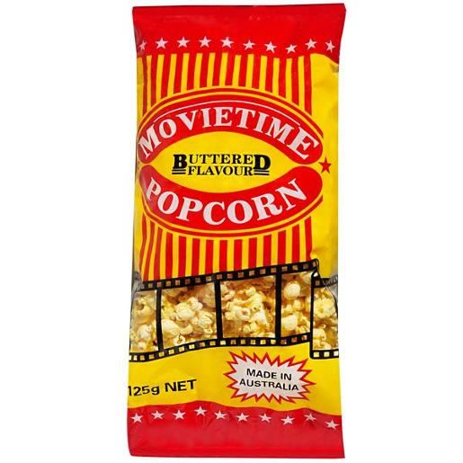 BUTTERED POPCORN 125GM