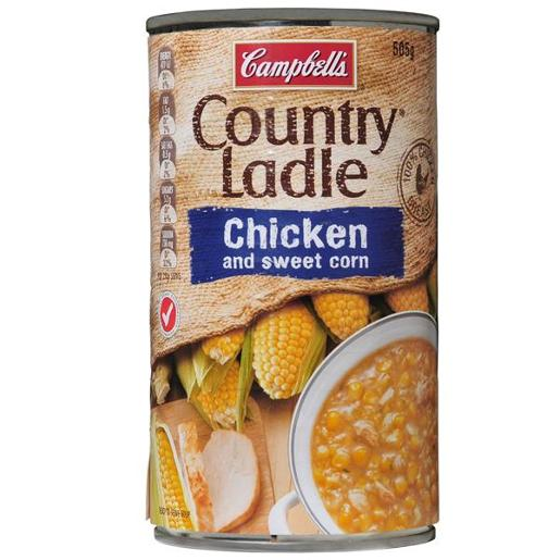 COUNTRY LADLE SOUP CHICKEN AND SWEET CORN 505GM
