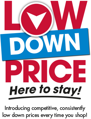 Low Down Price