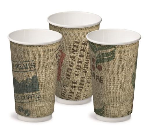 DOUBLE WALL PAPER HOT CUPS 460ML