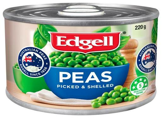 GREEN PEAS 220GM