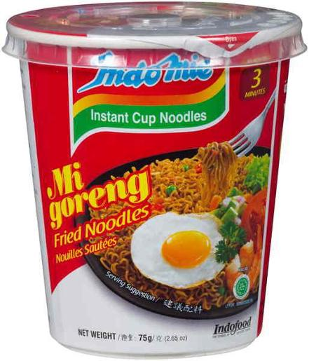 MI GORENG INSTANT NOODLES FRIED CUP 75GM