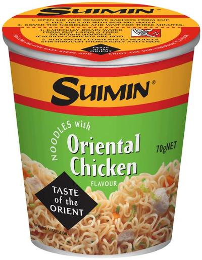 ORIENTAL CHICKEN CUP 70GM