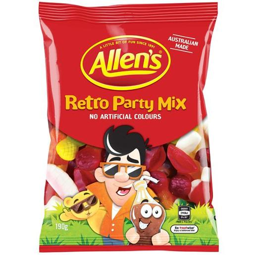 PARTY MIX RETRO 190GM