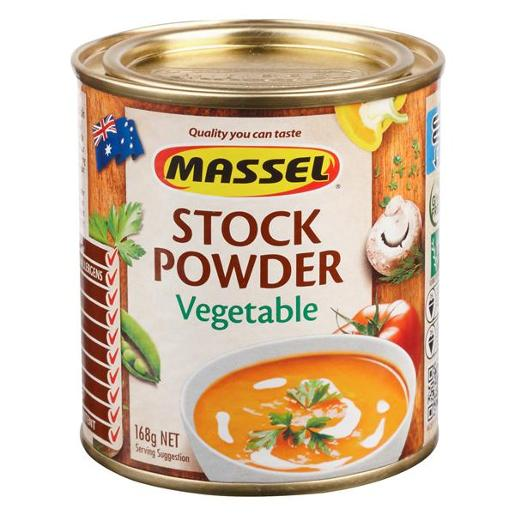 VEGETABLE STOCK POWDER 168GM