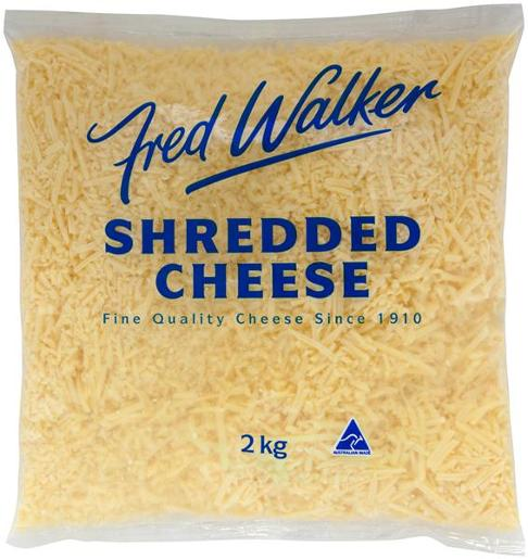 CHEESE TASY SHREADED 2KG