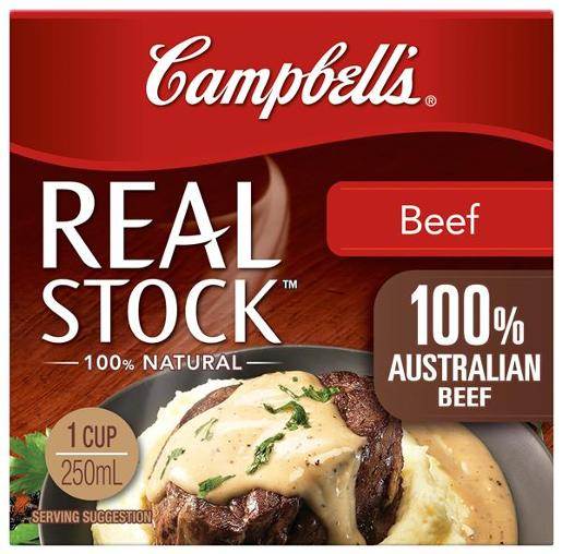 REAL STOCK BEEF 250ML