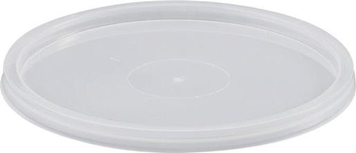 MICROREADY ROUND FLAT TAKEAWAY CONTAINER LIDS 50S