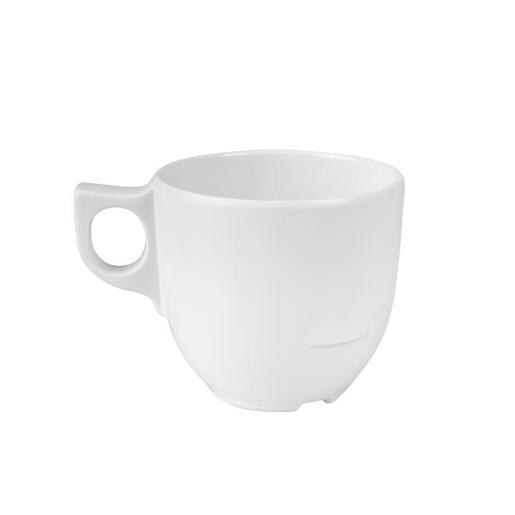 MELAMINE WHITE STACKABLE CUPS 1EA