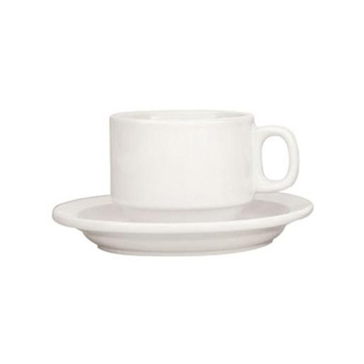 WHITE STACKABLE ESPRESSO CUPS 24PK