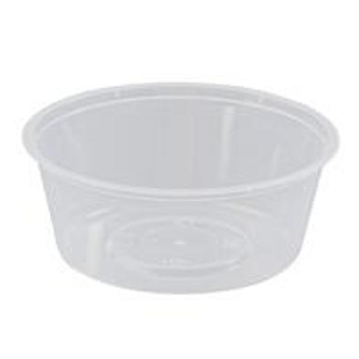ROUND MICROWAVE CONTAINER 280ML 100S
