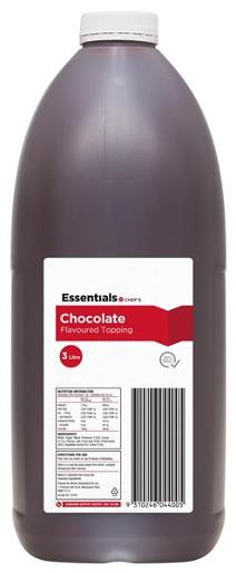 CHOCOLATE TOPPING 3L