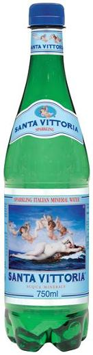 GREEN SPARKLING MINERAL WATER 750ML