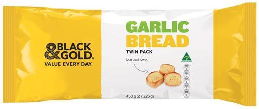 Black Gold Garlic Bread 225gm