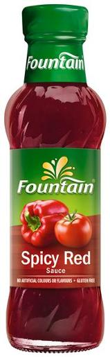 SAUCE TOMATO SPICY RED 250ML