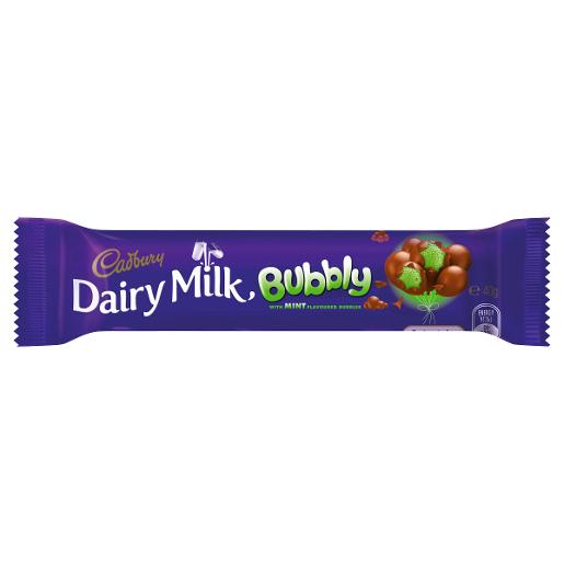 BUBBLY BAR MINT 40GM